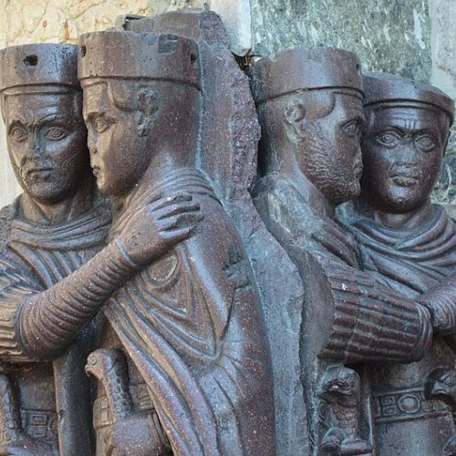 """Anchoring a """"New Empire."""" Praise and the Imperial Court A.D. 285-324"""